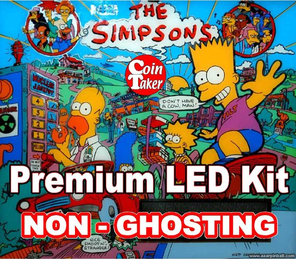 1. SIMPSONS LED Kit with Premium Non-Ghosting LEDs