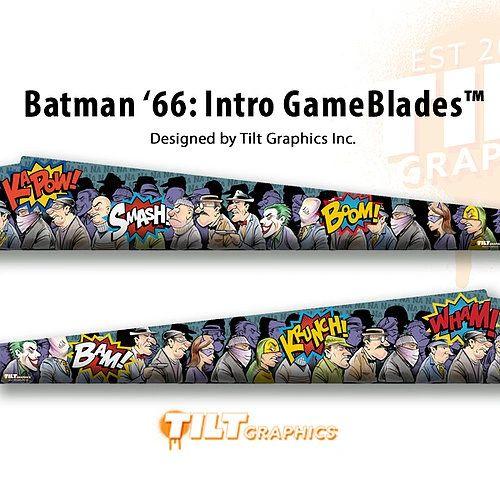 Batman '66: Intro GameBlades