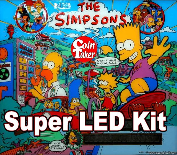 2. SIMPSONS LED Kit w Super LEDs