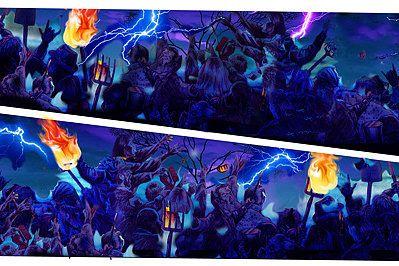 Monster Bash Inner Art PinBlades