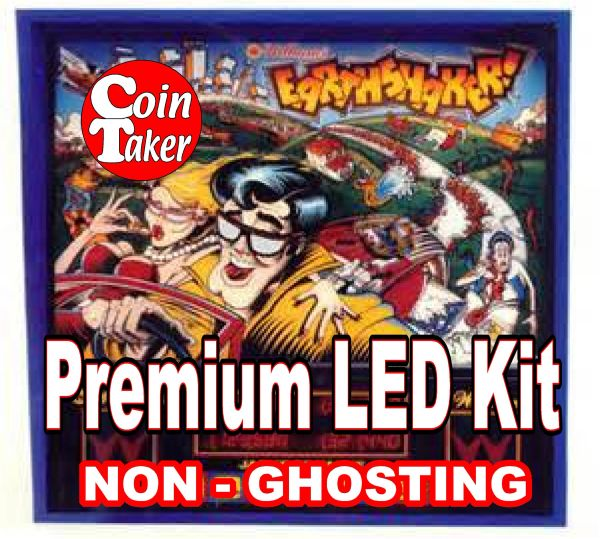 1. EARTHSHAKER LED Kit with Premium Non-Ghosting LEDs
