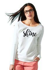 Next Level - Women's Terry Long Sleeve Scoopneck T-Shirt - 6931-SHINE Logo