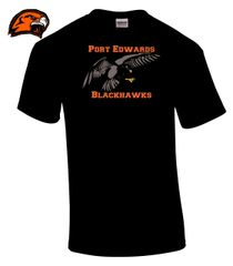 Port Edwards Blackhawks Old Mascott