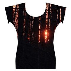 Sunset Through the Trees Capsleeve Tee