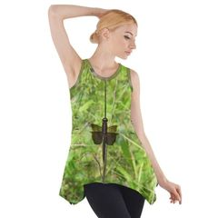 Dragonfly Sleeveless Swing Tunic