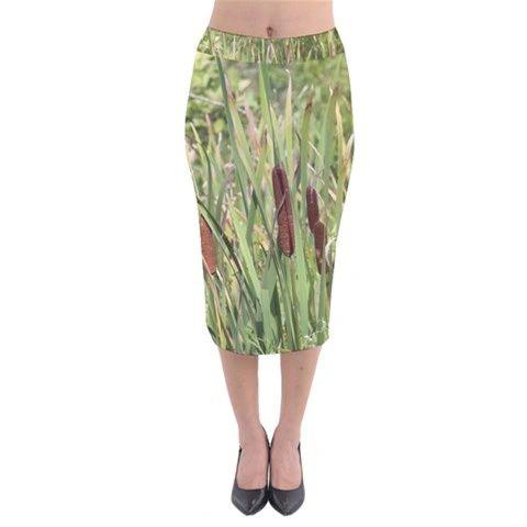 Cat Tale Midi Skirt