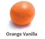 Orange Vanilla Rolled Fondant Icing Satin Ice 2 lb.