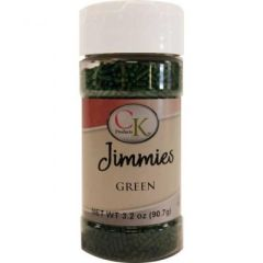 Green Jimmies Sprinkles 3.2 oz