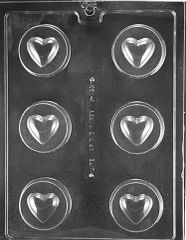Heart Oreo Cookie Chocolate Craft Candy Mold