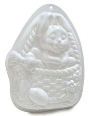 Bunny Rabbit in Basket Cake Pantastic Pan
