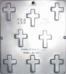 Cross Chocolate Craft Candy Mold