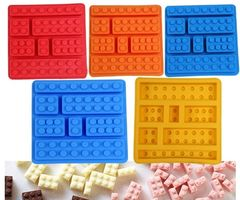 Block Lego Silicone Chocolate Mold