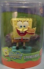 SpongeBob Crabby Patty Collectable PVC Figure