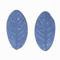 Rose Leaf Silicone Veiner Double Sided 3x1-1/8 inch