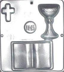 Communion Chocolate Craft Candy Mold