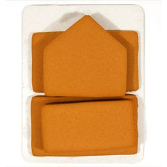 Gingerbread House Large Pre-Baked Panels 7.5x6x7 inch