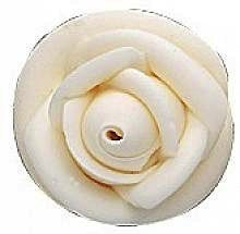 White Large Royal Icing Roses 2.75 inch 4 Piece