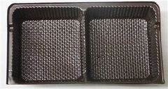 Oreo Cookie Candy Tray Insert 2 Cavity Brown