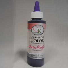 Neon Purple Gel Food Coloring 4.5 oz