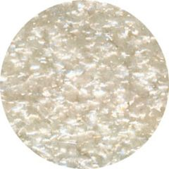 White Edible Glitter 1/4 oz