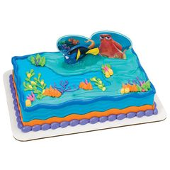 Finding Dory Fintastic Adventures DecoSet Cake Kit