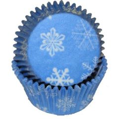 Snowflake Standard Muffin Baking Cups 50 piece