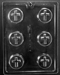 Cross Oreo Cookie Chocolate Craft Candy Mold
