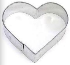Heart Cookie Cutter 3 inch