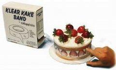 2 inch Klear Kake Band Cake Collar per yard