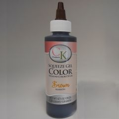 Brown Gel Food Coloring 4.5 oz
