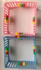 Baby Play Pen Novelty Cake Decoration Each