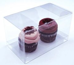 7x4x4 inch Clear Cake Cupcake Candy Box