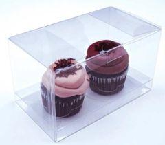 7x4x4 inch Clear Cake Cupcake Candy Box