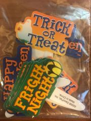 Happy Halloween Fright Night Trick or Treat Novelty Picks 12 piece