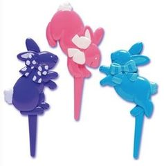 Bunnies Novelty Picks 12 Piece