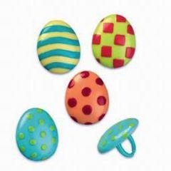 Easter Egg Novelty Rings 12 Piece