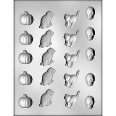 Halloween 20 Cavity Chocolate Craft Candy Mold