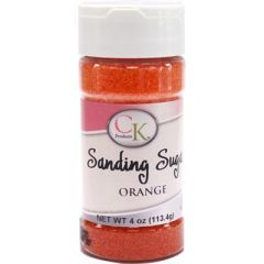 Orange Sanding Sugar 4 oz