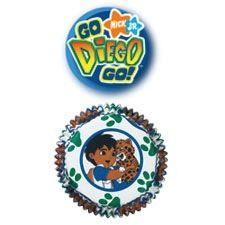 Go Diego Go Standard Muffin Baking Cups 50 Piece
