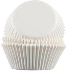 White Baking Cups 50 piece 2.25 x 1.375 inch