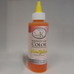Neon Yellow Gel Food Coloring 4.5 oz