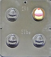 Cupcake Oreo Cookie Chocolate Craft Mold