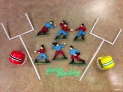 Football Touchdown Team Goal Posts Cake Kit