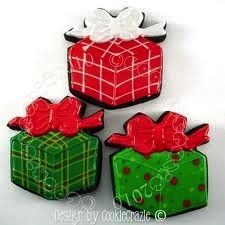 Gift with Bow Cookie Cutter 3 inch