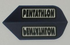 3 Sets (9 flights) BLUE Slim PENTATHLON Flights - 2203