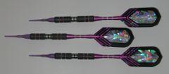 DYNAMITE 18 gram Soft Tip Darts - Scalloped Grip 80% Tungsten - Convertible - Steel/Soft Tip Darts DY8