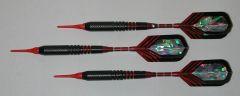 PREDATOR 16 gram Soft Tip Darts - Style M7 - 2BA (3/16th inch) Tips and Shafts