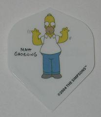 2 Set (6 flights) Simpsons Bart Homer Duff Standard Dart Flights - Simp05