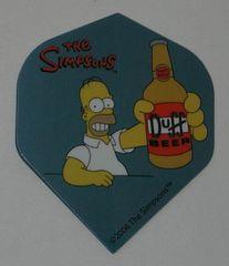 2 Set (6 flights) Simpsons Bart Homer Duff Standard Dart Flights - Simp04