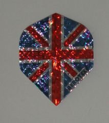 3 Sets (9 flights) Dimplex Standard UNION JACK Flights - 4004
